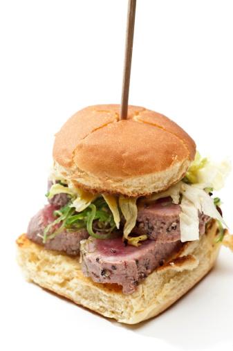 Sandwich「Ahi Tuna mini burger」:スマホ壁紙(3)