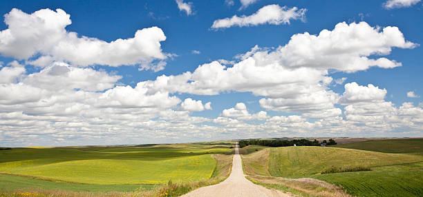 Road Through The Plains:スマホ壁紙(壁紙.com)