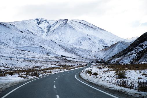 New Zealand「Road through the mountains, New Zealand」:スマホ壁紙(18)