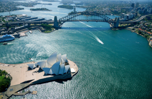 Sydney Harbor Bridge「Sydney aerial」:スマホ壁紙(10)