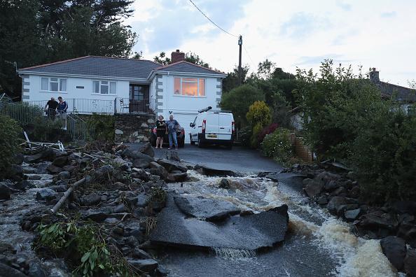 イングランド コーンウォール「Cornish Village hit By Flash Flood」:写真・画像(14)[壁紙.com]