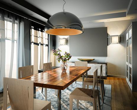 Comfortable「Dining Room」:スマホ壁紙(14)