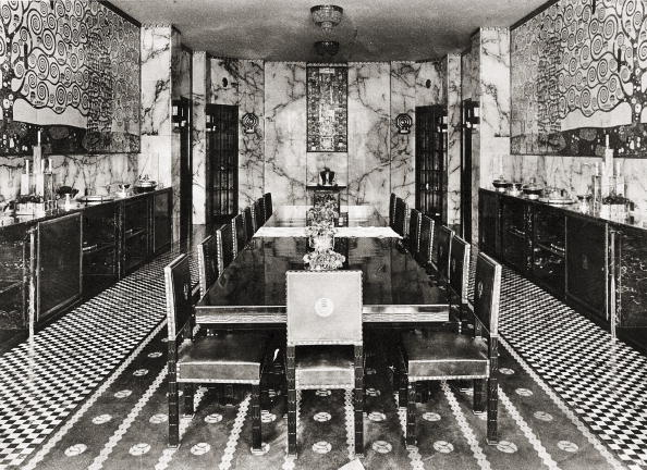 Dining Room「Dining room at Palais Stoclet with frieze by Gusta」:写真・画像(8)[壁紙.com]