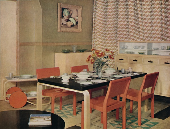 Dining Table「Dining Room With Finnish Furniture」:写真・画像(12)[壁紙.com]