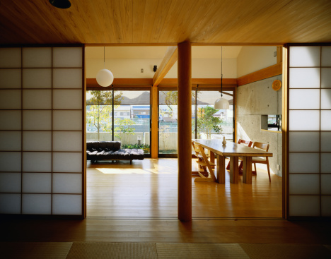 Feng Shui「Dining Room With a Shoji Screen」:スマホ壁紙(0)