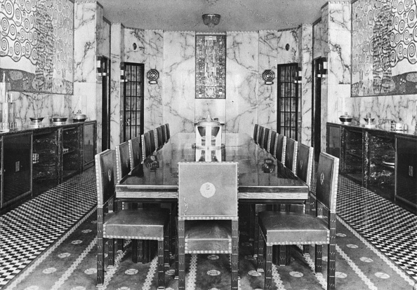 Dining Room「Dining Room. Stoclet Palais. Brussels. Belgium. Photograph. About 1910.」:写真・画像(7)[壁紙.com]
