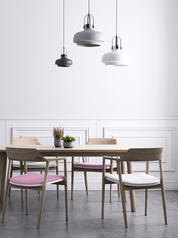 Clean「Dining room wall background template」:スマホ壁紙(3)
