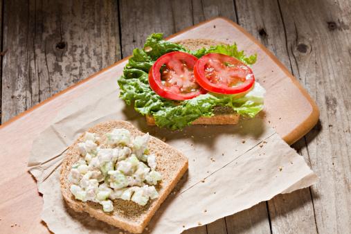 Sandwich「Open Face Chicken Salad Sandwich」:スマホ壁紙(18)
