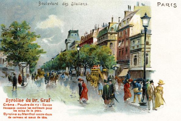 City Life「Boulevard des Italiens, Paris, France」:写真・画像(0)[壁紙.com]