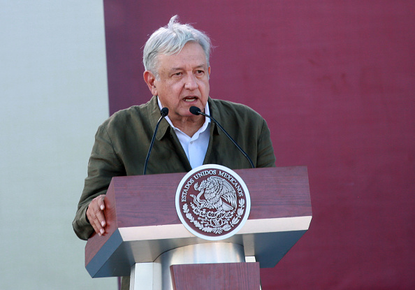 Baja California Peninsula「Mexico's President Obrador Holds Unity Rally In Tijuana On U.S. Border」:写真・画像(10)[壁紙.com]