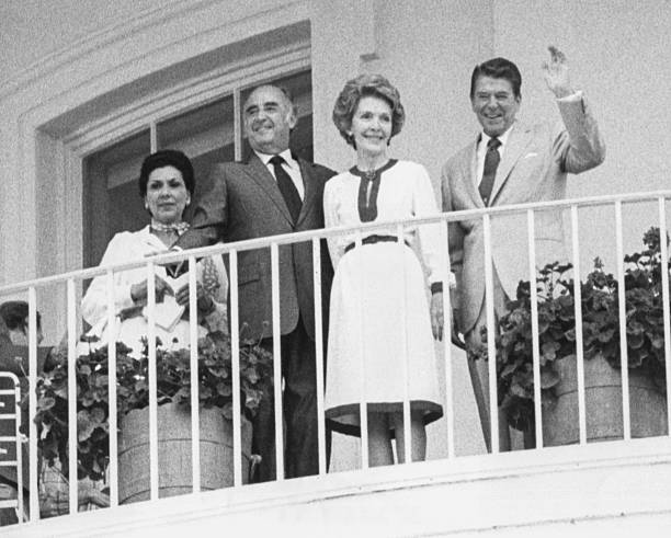 Jose Lopez Portillo And Ronald Reagan:ニュース(壁紙.com)