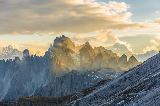 Fog「Dolomite mountain landscape」:スマホ壁紙(15)