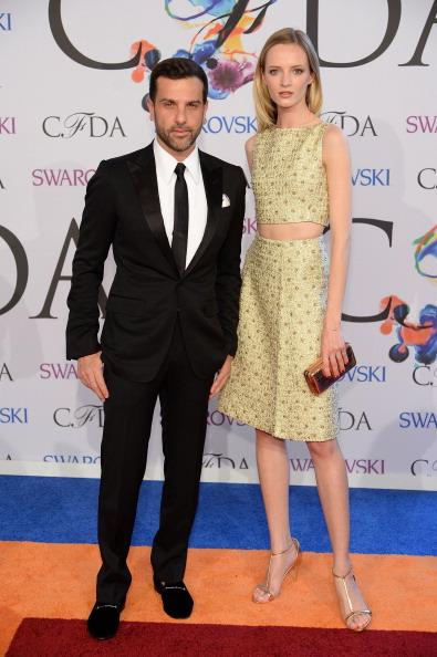 Daria Strokous「2014 CFDA Fashion Awards - Arrivals」:写真・画像(5)[壁紙.com]