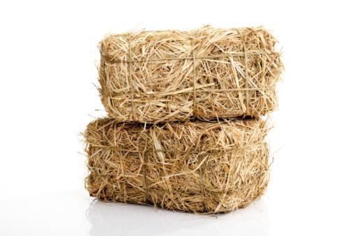 Hay「Bale of hay」:スマホ壁紙(9)