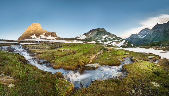 National Park「Reynolds Mountain at Logan Pass, Glacier National Park」:スマホ壁紙(9)