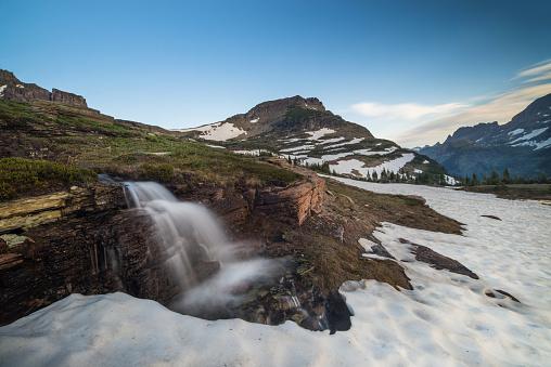 Summer「レイノルズ山モンタナ米国で氷河国立公園内」:スマホ壁紙(6)