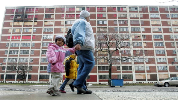 Tim Boyle「End Near For Infamous Chicago Housing Project Cabrini-Green」:写真・画像(0)[壁紙.com]