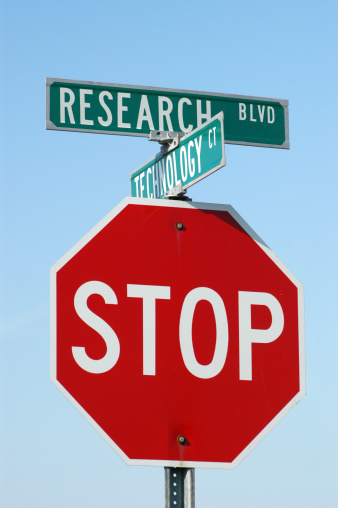Boulevard「Research Blvd and Stop Sign, Road Sign」:スマホ壁紙(14)