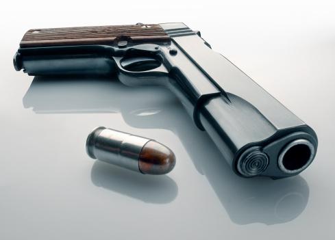 Semi-Automatic Pistol「45 automatic pistol and bullet」:スマホ壁紙(7)