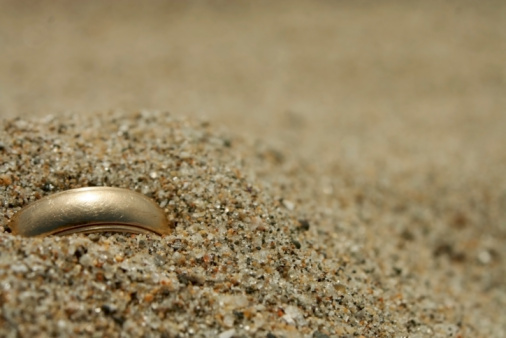 Lost「Gold Wedding Ring Lost in the Sand」:スマホ壁紙(4)