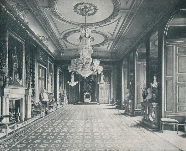 Ceiling「'The Throne Room, Windsor Castle', c1899, (1901)」:写真・画像(1)[壁紙.com]