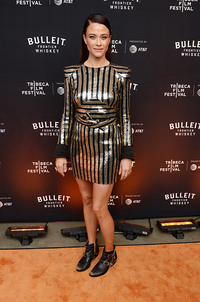 """Mini Dress「""""Crown Vic"""" Premiere After Party At Bulleit 3D Printed Frontier Lounge At Tribeca Film Festival」:写真・画像(16)[壁紙.com]"""