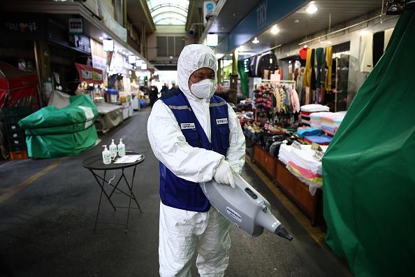 South Korea「Concern In South Korea As The Wuhan Covid-19 Spreads」:写真・画像(7)[壁紙.com]