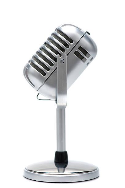 retro microphone:スマホ壁紙(壁紙.com)