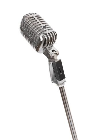 Blues Music「Retro Microphone (+clipping path, XXL)」:スマホ壁紙(11)