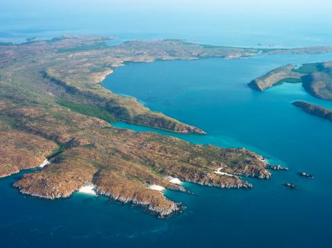 Kimberley「Aerial of Buccaneer archipelago.」:スマホ壁紙(15)