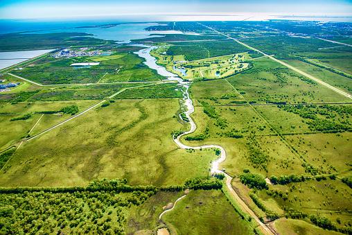 Gulf of Mexico「West Texas Rural Landscape Aerial」:スマホ壁紙(10)