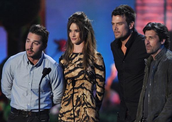 ロージー・ハンティントン・ホワイトリー「2011 MTV Movie Awards - Show」:写真・画像(7)[壁紙.com]