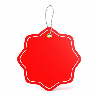 Consumerism「Red price tag」:スマホ壁紙(15)