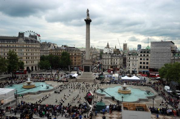 Trafalgar Square「Big Dance Trafalgar Square 2012」:写真・画像(7)[壁紙.com]