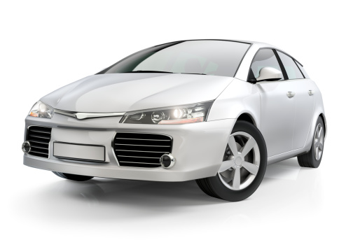 Generic - Description「White compact car」:スマホ壁紙(9)