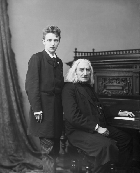 Classical Musician「Liszt And Stavenhagen」:写真・画像(11)[壁紙.com]