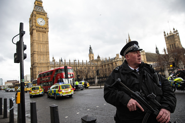 London - England「Firearms Incident Takes Place Outside Parliament」:写真・画像(9)[壁紙.com]