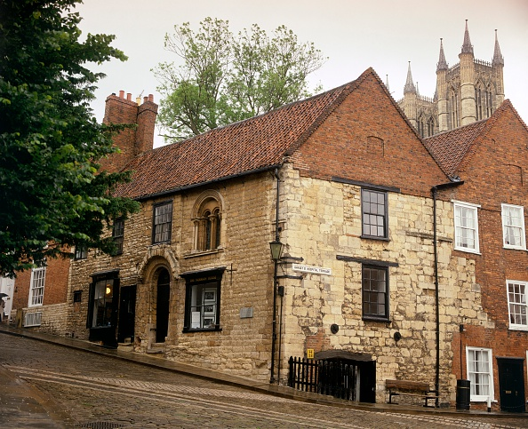 Steep「Norman House, Steep Hill, Lincoln, Lincolnshire, c2000s(?)」:写真・画像(8)[壁紙.com]