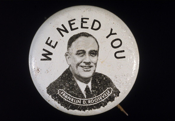 Franklin Roosevelt「FDR Campaign Button」:写真・画像(10)[壁紙.com]