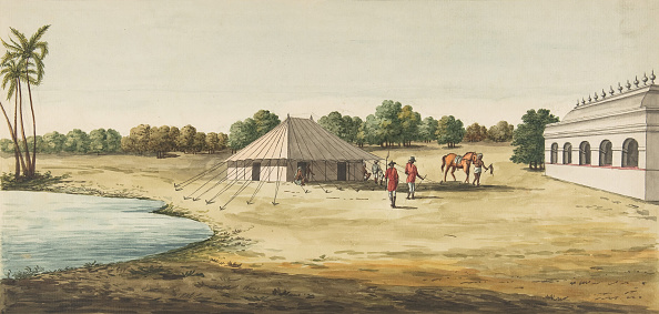 Health Spa「View Of A Chaudézie In The Interior Of An English Travellers Tent,」:写真・画像(15)[壁紙.com]