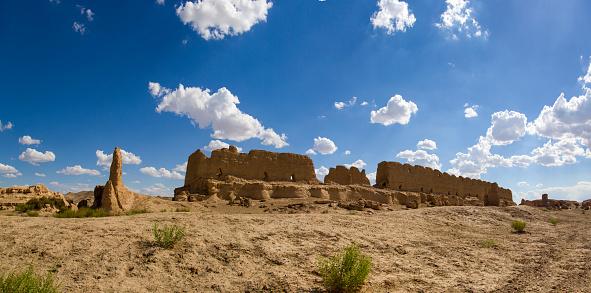 Eco Tourism「Old ruin in Gansu province, China」:スマホ壁紙(3)