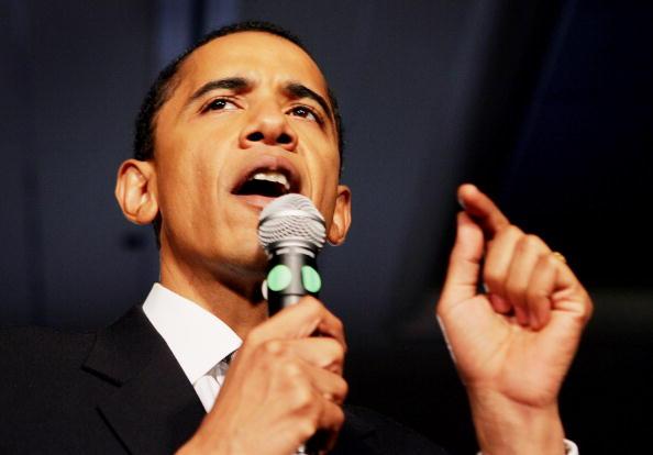 Cook County - Illinois「Senate Hopeful Barack Obama Waits For Election Results」:写真・画像(8)[壁紙.com]