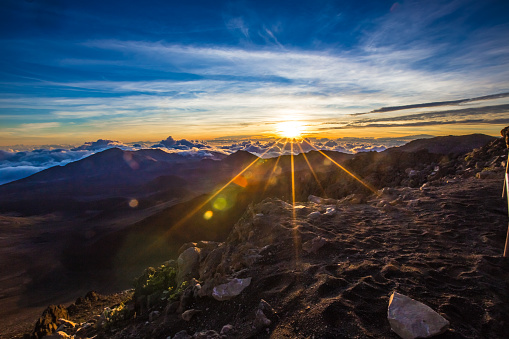 Panoramic「Haleakalā national park sunrise Hawaii」:スマホ壁紙(16)