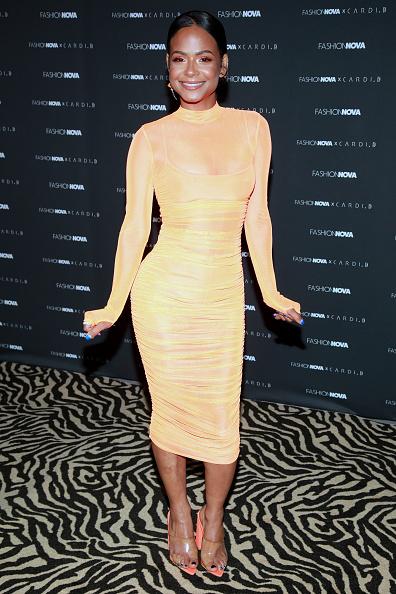 Orange Color「Fashion Nova x Cardi B Collection Launch Party - Arrivals」:写真・画像(19)[壁紙.com]