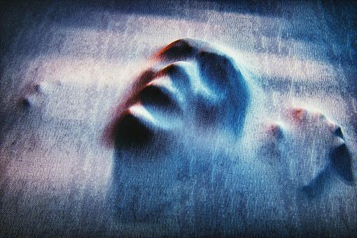 Horror「Ghost face」:スマホ壁紙(19)