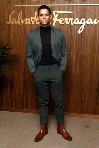 Leather Boot「ELLE x Ferragamo Hollywood Rising Party - Arrivals」:写真・画像(12)[壁紙.com]