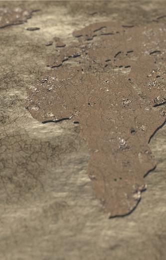 世界の風景(地域別)「Drought in Africa」:スマホ壁紙(3)