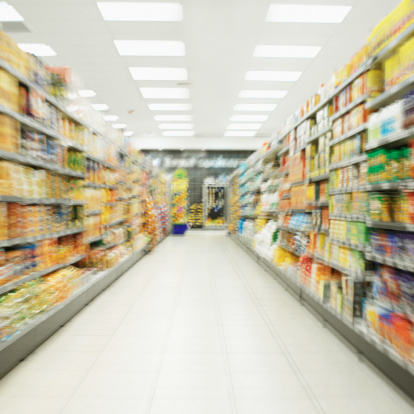 Ceiling「shelves in a supermarket」:スマホ壁紙(12)