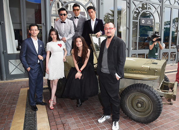 "Angelababy「""The Ghouls"" Photocall And Press Conference - The 68th Annual Cannes Film Festival」:写真・画像(12)[壁紙.com]"