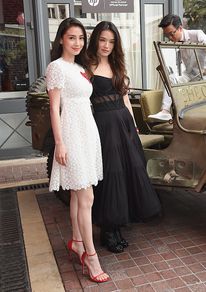 "Angelababy「""The Ghouls"" Photocall And Press Conference - The 68th Annual Cannes Film Festival」:写真・画像(6)[壁紙.com]"